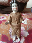 Antique-vintage-Frozen-Charlotte Porcelain Doll Size Tall 7
