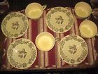 4 Royal China BUCKS COUNTY Amish Farm Country Scenes 4 cups w/saucers, Couple