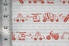 1 yard Moda - Apple Jack gray lined paper vehicles drawings 100% cotton NEW!