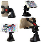 Genuine Imobile 360 Dual Claw In Car Phone Holder Windshield Mount Cradle BlacK