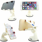 Genuine Imobile 360 Rotation In Car Phone Holder Windshield Mount Cradle White