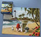 Alan Giana 550 piece Jigsaw Puzzle Karmin 2014  You Can Dream Lighthouse 18x24
