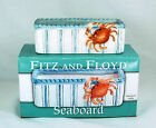 FITZ & FLOYD Sweetener Caddy, Seaboard Collection