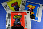 Star Wars 1980 Empire Strikes Back Topps Set of three wax pack wrappers