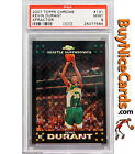2007-08 Kevin Durant Topps Chrome Xfractor Refractor RC Rookie 50 PSA 9 Pop 3