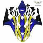 New Yellow Blue Injection Plastic Fairing Fit for Honda 2006 2007 CBR 1000RR p36