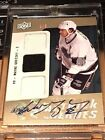 Wayne Gretzky 2009-10 Upper Deck Trilogy Hat Trick Heroes Auto Jersey 5 RARE