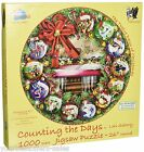Counting the Days 1000-Piece Jigsaw Puzzle Sunsout 12 days of Christmas Gift NEW