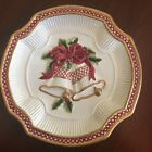 Fitz & Floyd Holiday Bells Canapé Plate