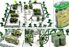 70 pcs Military Toy Soldier Army Men Figures Tanks Vehicles Accessories Playset