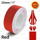 24mm 1 JDM PinStriping Pin Stripe Tape SINGLE LINE Decal Vinyl Sticker RED