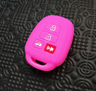 Fit For Toyota Corolla Camry 2014 2015 Silicone Key Cover Fob Remote Case Holder