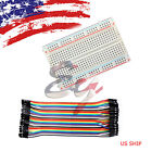 400 Tie Points Solderless PCB Mini Breadboard + 10cm Dupont Jumper cable Arduino