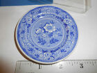 SPODE BLUE ROOM COLLECTION MINIATURE PLATE GEORGIAN SERIES BOTANICAL FLOWERS BOX