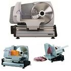 Electric Food Slicer Cheese Meat Cutter Stainless Steel Professional Blade Deli