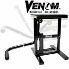 New Motorcycle Motocross Racing MX Offroad Dirt Bike Steel Lift Stand - Black