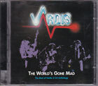 THE WORLDS GONE MAD - BEST OF - VARDIS - 2001 Castle 2 cd - Like New - NWOBHM