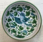 Deruta pottery-3 Inch Bowl With Arabesco Pattern.Made/painted by hand-Italy