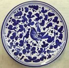 Deruta pottery-6 Inch Plate With Arabesco Pattern.Made/painted by hand-Italy