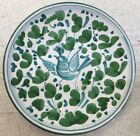 Deruta pottery-4,3/4 Inch Plate With Arabesco Pattern.Made/painted by hand-Italy