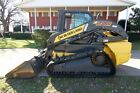 2012 NEW HOLLAND C238 CAB TRACK LOADER SKID STEER AC HEAT RADIO ONLY 809 HRS