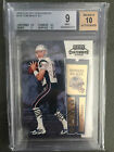 2000 Playoff Contenders Tom Brady RC Rookie Ticket Autograph BGS 9 with 10 Auto