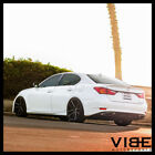 20 SPORZA V5 BLACK CONCAVE WHEELS RIMS FITS LEXUS LS430