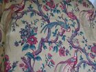 Waverly Olana Fabric- Bird of Paradise 54