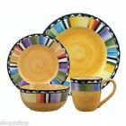 GIBSON 61897.16 Fandango 16-Piece Dinnerware Set NEW