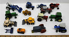 Maisto Matchbox Farm Tractor Die Cast Mixed Lot Metal Backhoe Front End Loaders
