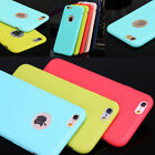 TPU Silicone Rubber Soft Candy Back Case Cover For iPhone 5S 6 6S 47 Plus 55