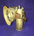 Antique Bicycle Brass Carbide lamp CICCA with the rear red light