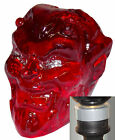 Red Devil Head shift Handle with silver adapter kit fits new Dodge Dart