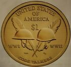 2016 Sacagawea Native American Golden Dollar PD 2 CoinsIN STOCK