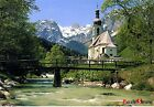 Bluecastle JIGSAW Puzzle 1000pcs Ramsau Church Hobby Decoration Gift Assembly
