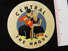 Grand Hotel Central THE HAGUE HOLLAND Vintage Luggage Label