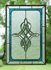 Handcrafted stained glass Clear Beveled window panel 1675 x 2475