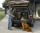Dog Crate Transport Pets Pet Bed SUV With Plastic Pan Vet Road Trip Truck Auto