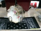 antique rs prussia china porcelain floral scalloped 8 3.4