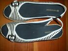 Naturalizer espadrilles  Navy blue/white stripe jute covered wedge  SZ 7.5