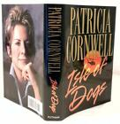 ISLE OF DOGS Patricia Cornwell SIGNED half title page 1st 1st Like New