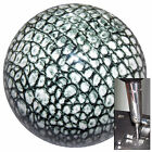 Alligator Print shift knob w chrome adapter for automatic shifters See desc