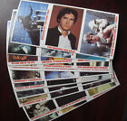 Set of 1980 Topps Burger King Star Wars Cards 36 Cards 12 Panels of 3