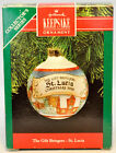 Hallmark: The Gift Bringers - St. Lucia - Glass Ball 1990 Keepsake Ornament