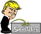 45 Donald Trump Pee on Snowflakes Decal Show Your Support MAGA