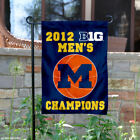 Michigan Wolverines 2012 Big Ten Champs Garden Flag and Yard Banner