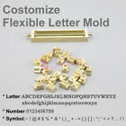 Custom Interchangeable Flexible Letters Stamp Mold for Leather Hot Foil Stamping