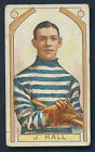 1911 C55 #2 J. Hall Imperial Tobacco Hockey Card Montreal Wanderers Quebec HOF