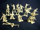 MARX toy soldiers WWII American 1/32nd figures 16 in 16 poses Tan