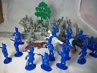Timpo Napoleonic Toy Soldiers Battle set FRANCE vs. PRUSSIA - 54MM